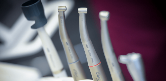 Range of NSK Dental Handpieces including the Ti-Max Z95L