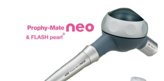 NSK's Prophy-Mate neo dental air-polishing unit