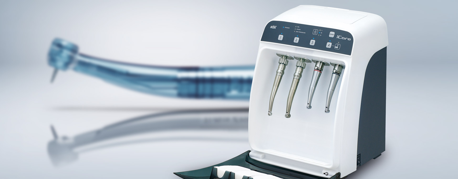 The SMART way to clean dental handpieces